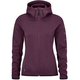 Cube Advanced Zip Hoodie Women, red